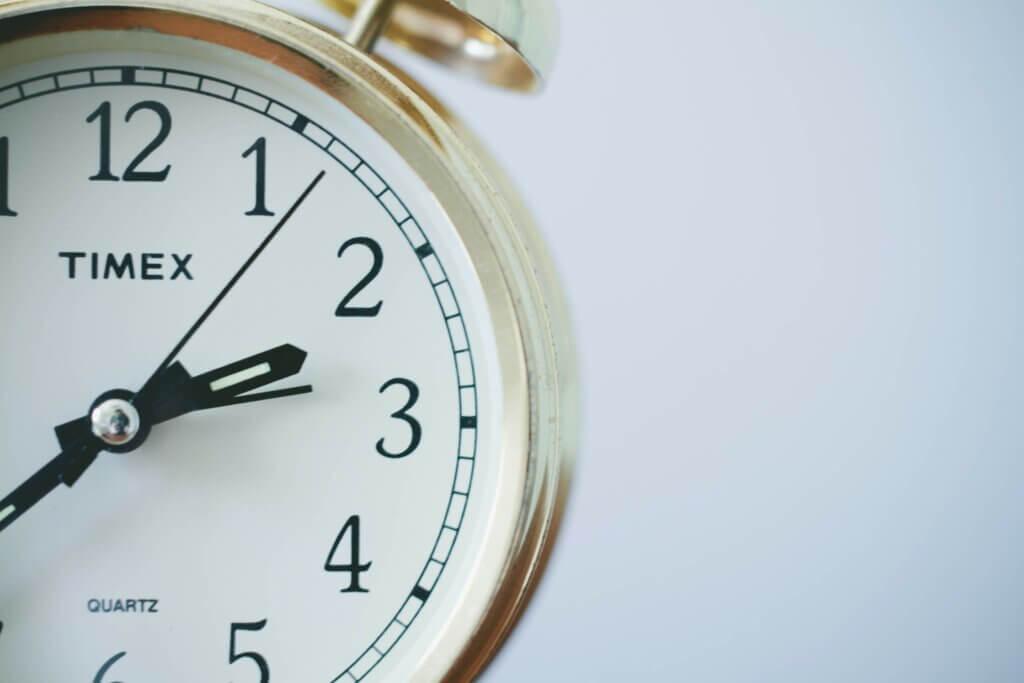 time in english