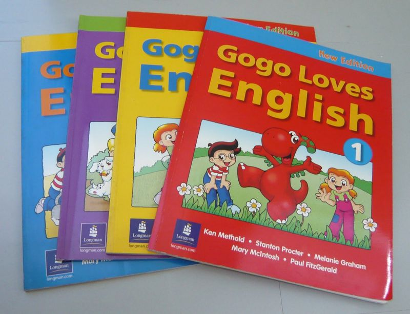 Gogo Loves English Book