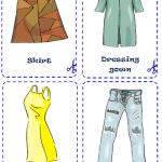 clothes карточки