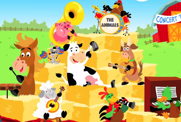 Песня «The Animals On The Farm»