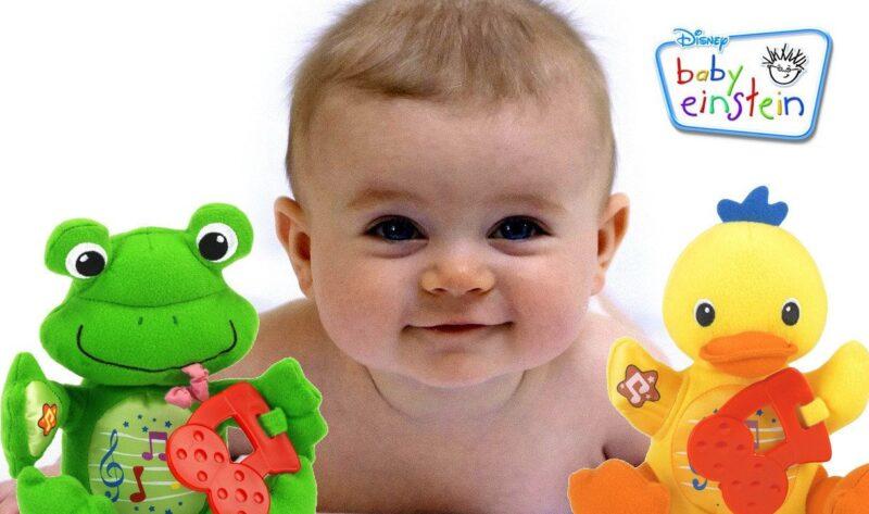 Baby Einstein - обучающее видео на английском для самых маленьких