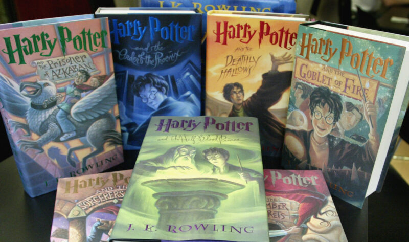 Все книги Harry Potter на английском