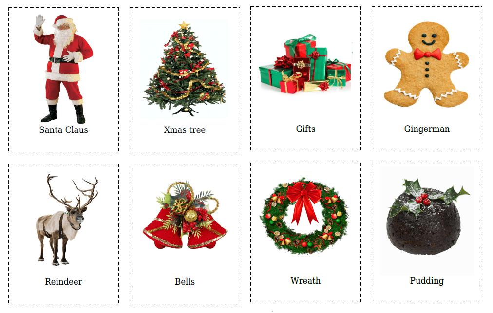 Карточки по теме «Christmas»