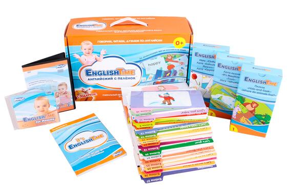 «Английский с пеленок» и «Skylark English for Babies» от «Умницы»