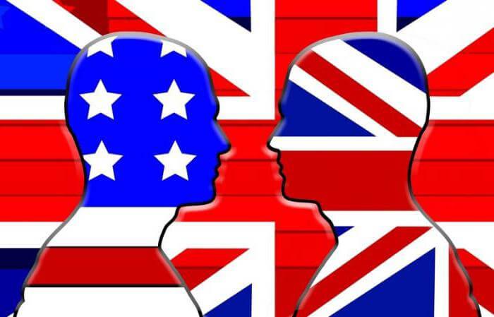 Различия между британским и американским английским