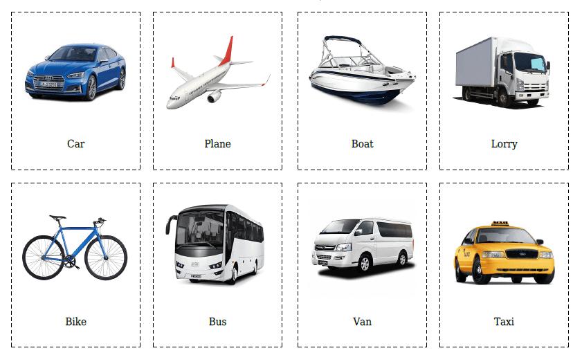 transport-flashcards